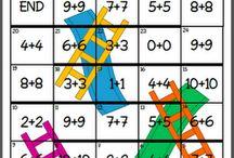 Idées en Math Jeux / by Nathalie Gosselin