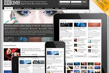 responsive drupal news templates / by Druvision