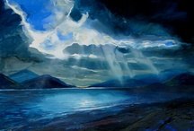 David Wilson Paintings / David Wilson is our studio artist. Here's a selection of his work. / by Lime Tree Gallery Fort William