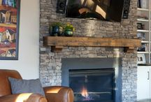 Fireplace ideas / by Kelsey Gates