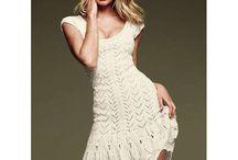 Crochet dress / by Sara D
