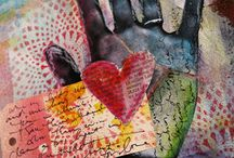 Art Journaling, Handmade Journals, Pages & Ideas / by JP Calabrese-Moore