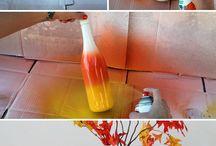 wine bottle project / by Kelly Snook