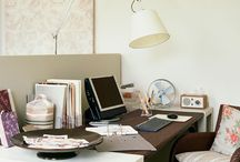 HOME | study space / by Tracey