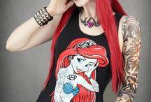 hair, nails, make-up, clothes / by Tiffany Shergold