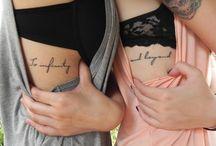 tattoos   / by Izabella Halonski