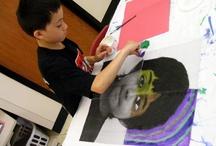 Kid art projects / by Brittney Trueblood