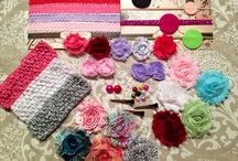 Headbands, Ribbons, Bows and All Things Girly / by Stephanie Kays