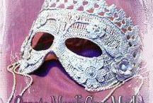 Crocheted Costume or Mardi Gras Masks / by Sharon Santorum