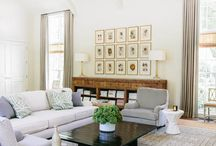 Lovely living spaces / by Heather Watson
