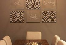 Dining room this and thats / Ideas for decorating a dining room / by Shelley Corpuz-Kuhn