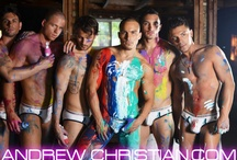 Hot Guys in Andrew Christian / by Andrew Christian