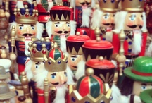 NUTCRACKER LUV / My mother was a ballet teacher, and every year we would perform the NUTCRACKER SUITE for our small town at Christmas...I collect them to bring back those lovely memories. / by Desiree Aaron