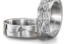 Furrer Jacot Wedding Bands / Throughout history, the circle, which has no beginning and no end, has been used to symbolize the eternal bond of love.  Furrer - Jacot expresses this promise of eternity in exceptional rings crafted from the most precious alloys.  / by Manfredi Jewels