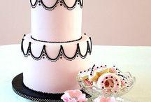 tortas y pasteles / tortas de festejos, decorados especiales / by Iris Amorena