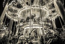 Carousel beauty / I've always loved carousels...as a child and now for their nostalgic romance and artistic beauty.  / by Annett Kohlmann