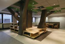 Commercial * Kid's spaces / designing space for kids; commercial design for kids / by J A N E T * S L A B O S Z - G R I G G S