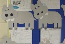 Letter H: hippo / by Izzie, Mac and Me