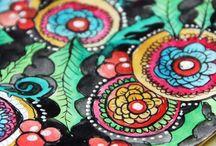 Zentangle & Doodles / by Kandi Siddle