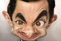 having fun with caricatures / by maria rorh