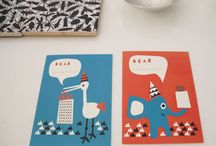 graphics with a vintage twist / by Sara Rivka Dahan