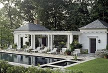 Poolside structures and decks / by Atlanta Decking & Fence