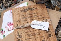 wedding ideas / by Jessica Lindgren