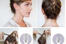 cheveux / by Victoria Brake