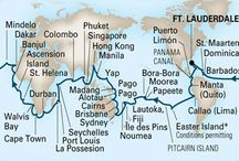 Around the World in 2014 / Welcome aboard for the journey of a lifetime. Follow along as we map the 2014 Grand World Voyage in real time! / by Holland America Line