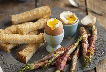 Breakfast / by Eliza Morawska {white plate}