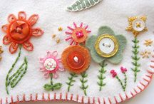 Embroidery and Stitching / by Aunt Jennie's Attic