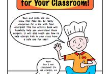 Teacher Resources / Materials teachers can use to help educate their students about food allergy issues. / by Cilie Yack