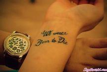Tattoos / by Mitzy Zamora