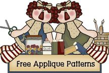quilts-applique / by barbara strange