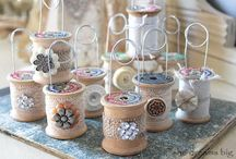 thread spools / by Kerry Johnston