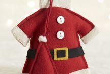 Felt Santa Claus / by Natalia Babilon