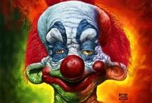 Creepy Clowns / by Franie Zummo Simsek