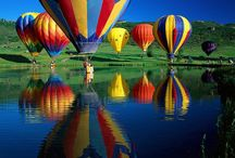 Balloons! / Having crewed for many years, balloons still instill awe when I see them in the sky! / by Deanne Doherty