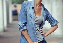 WEAR denim n chambray shirts / by Katty