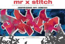 Mr X Stitch Patterns / For immediate download at the Mr X Stitch Pattern Foundry on Etsy! / by Mr X Stitch