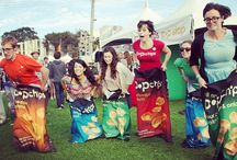 party poppers. / by popchips