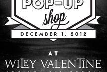 Pop Up Shop - Holiday  / Holiday Pop Up Shop ideas, branding and marketing.  / by Penny Blooms Floral and Event Design