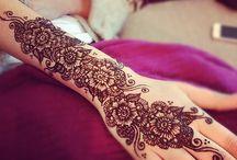 Stuuning henna designs / by Armz