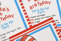 Cat in the Hat party!!! / by Jennifer Alvariza