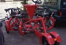 Unusual pedal powered transport / by Wendy Ruth
