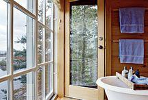 Bathroom Style / Bathroom remodeling ideas / by Dani Mullin