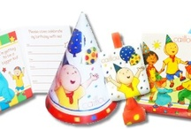 Caillou Birthday Party Ideas, Decorations, and Supplies / Caillou Party Supplies from www.HardToFindPartySupplies.com, where we specialize in rare, discontinued, and hard to find party supplies. We also carry several of the more recent party lines.  / by Hard To Find Party Supplies