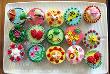 cupcake, cake, cookies, pies and candy ideas / Hoping to one day open a cupcake/bakery business. Love looking at ideas for inspiration and seeing other peoples wonderfully creative ideas / by Claudia Norton