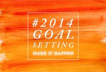 Making Things Happen in 2014 / #2014GOALSETTING / by Erin