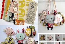 Cloth toys & dolls / by Simo R